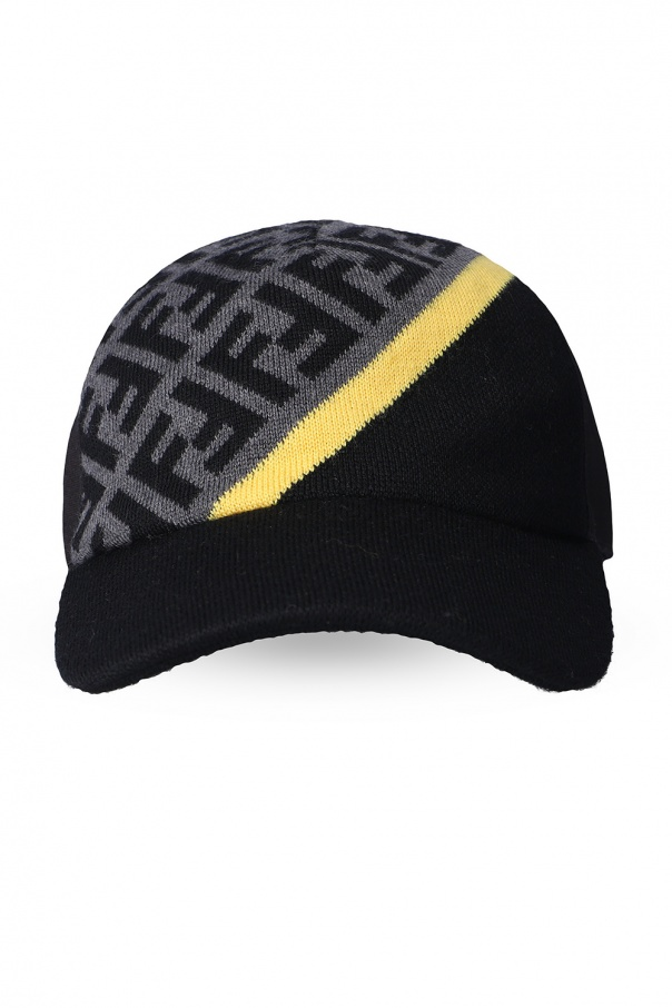Fendi Wool baseball cap