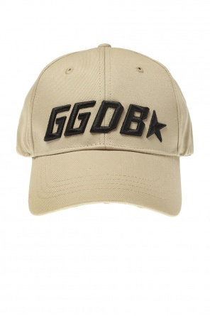 Logo-embroidered baseball cap od Golden Goose