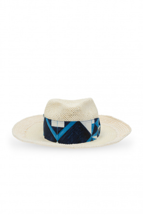 Hat with patterned band od Dolce & Gabbana