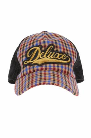 Checked baseball cap od Golden Goose