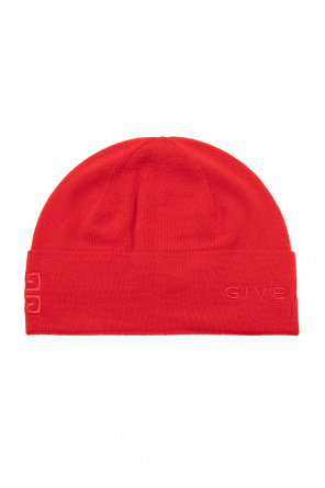 Wool hat with logo od Givenchy