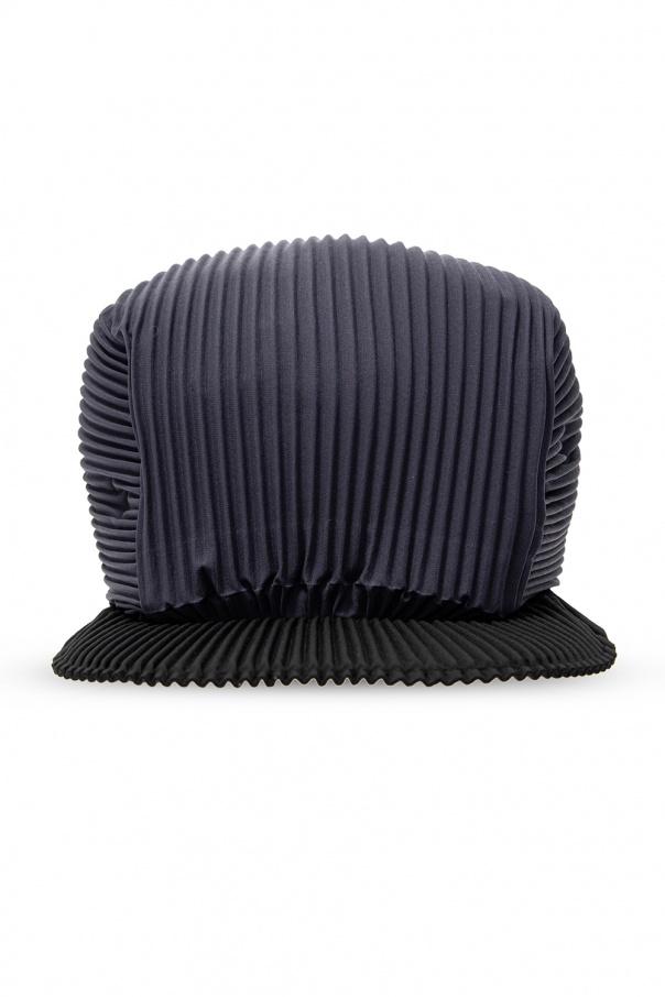 Issey Miyake Homme Plisse Pleated baseball cap