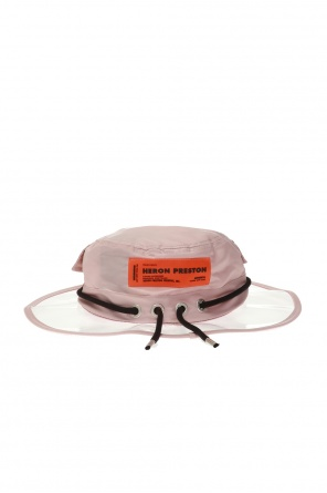 Hat with transparent brim od Heron Preston