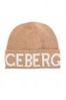 Iceberg Ribbed hat with logo