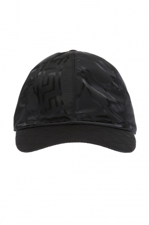 Decorative closure baseball cap od Versace