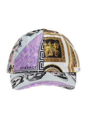 Quilted baseball cap od Versace