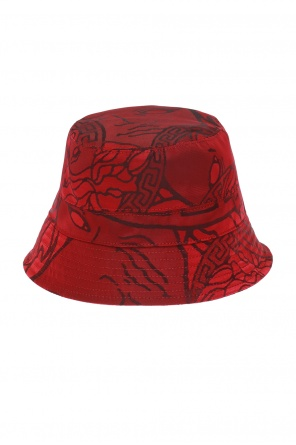 Embroidered hat od Versace
