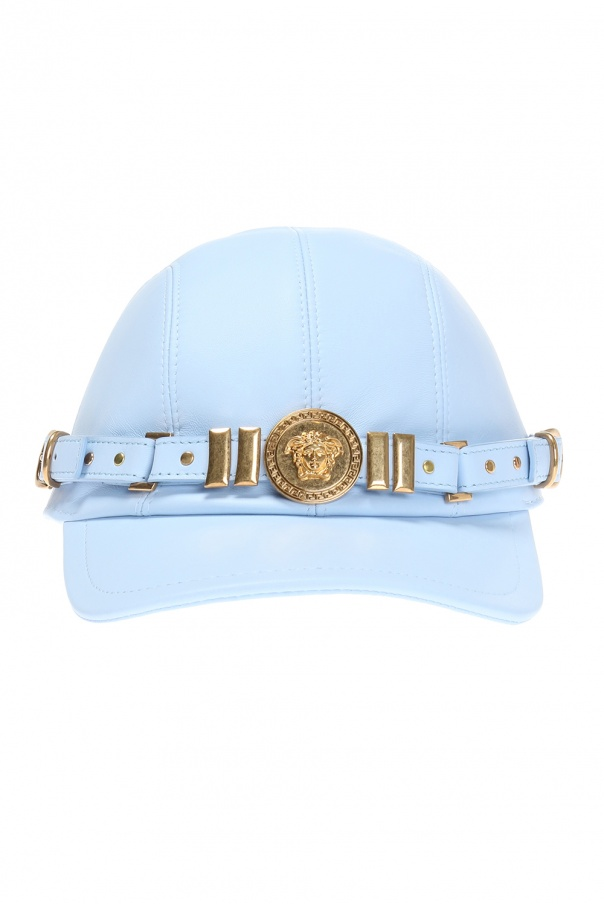 f6af547e8105c Leather baseball cap Versace - Vitkac shop online