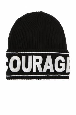 'courage' hat od Versace