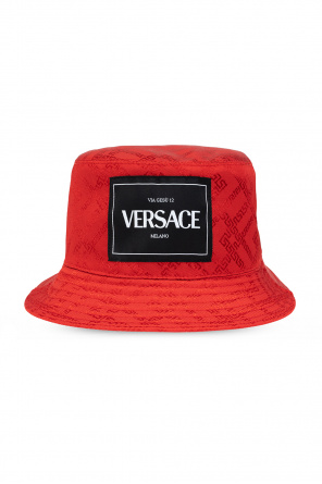 Hat with logo od Versace
