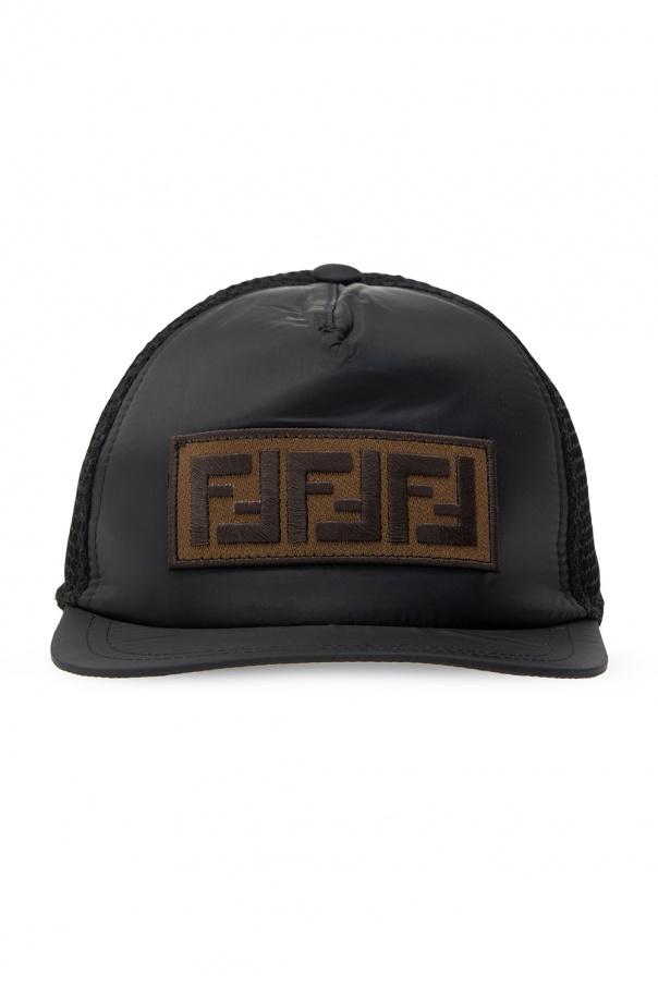 Fendi Kids Branded baseball cap