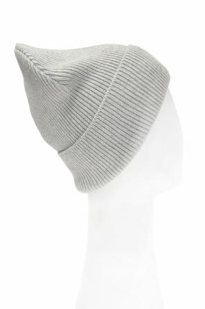 K-coder' woven hat with a sewn on application od Diesel