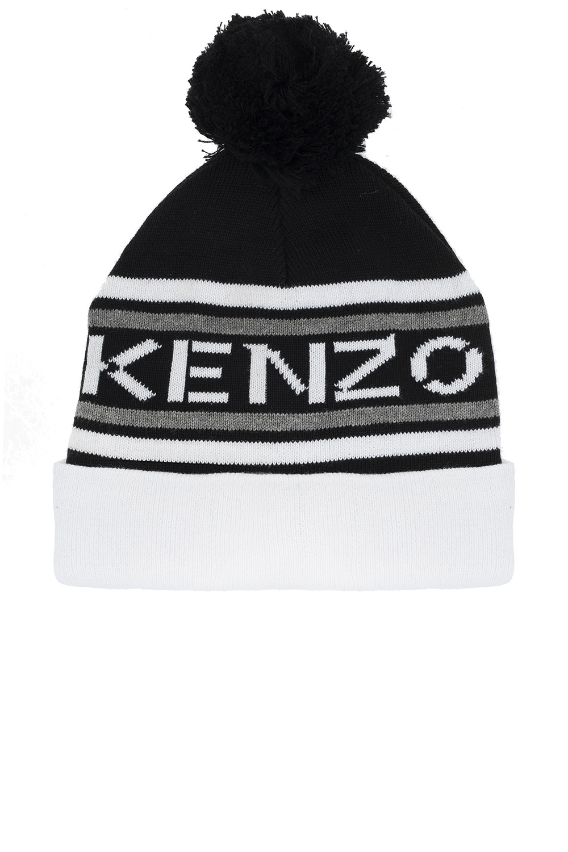 Kenzo Kids Pom-pom hat