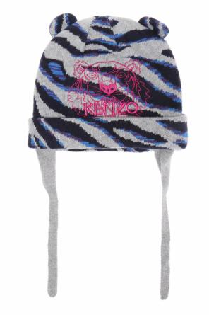 Patterned hat with lacing od Kenzo Kids