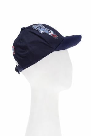 Patched baseball cap od Kenzo Kids
