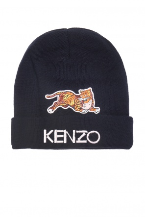 Hat with a patch od Kenzo Kids