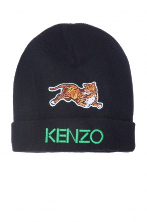 Hat with patches od Kenzo Kids