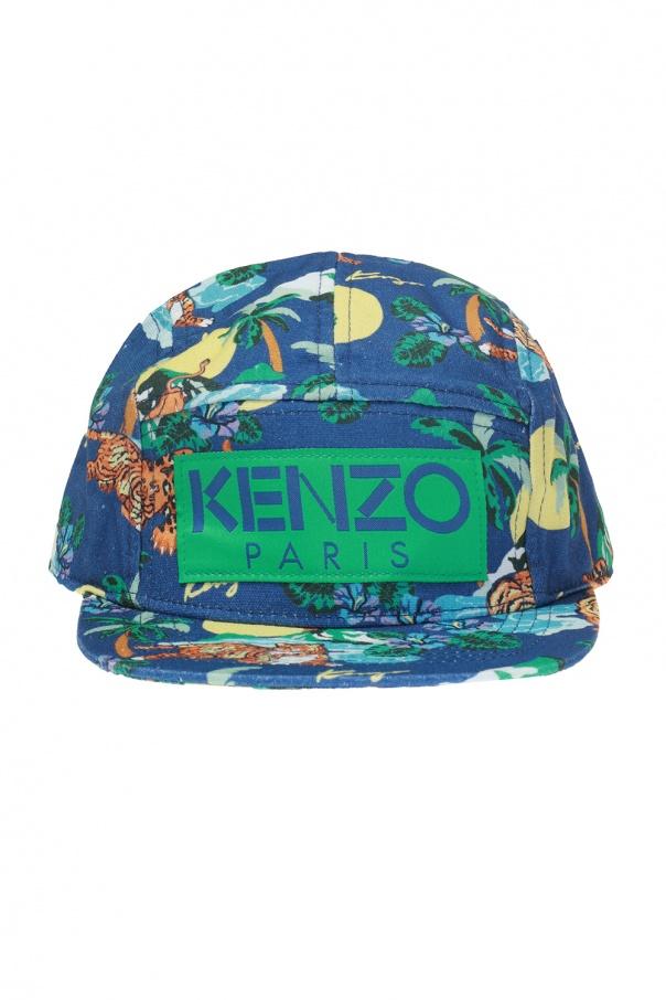Patterned baseball cap Kenzo Kids - Vitkac shop online b6f8a0a16f