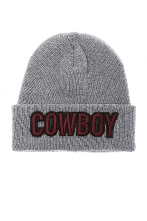 4e76294cf Patched wool hat Dsquared2 - Vitkac shop online