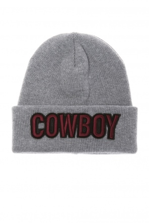Patched wool hat od Dsquared2