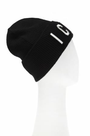 Ribbed hat with lettering od Dsquared2