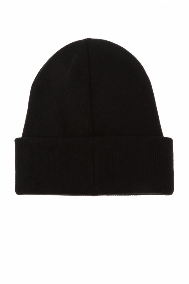 Branded wool hat od Dsquared2