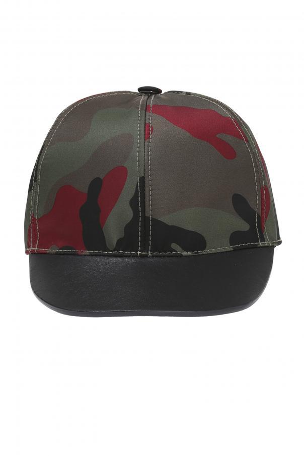 Camo Baseball Cap Valentino Garavani - Vitkac shop online e4be99284d5