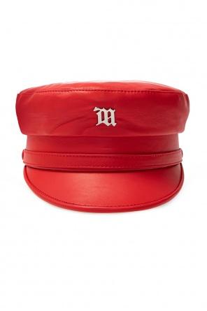'monogram' logoed baseball cap od MISBHV
