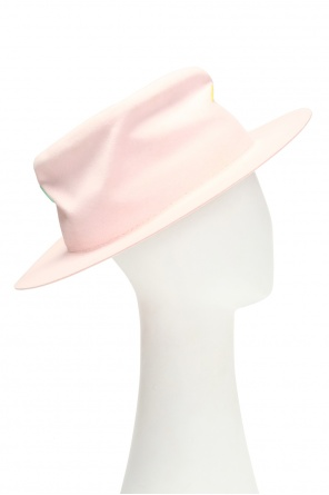 'lsd' stitching details hat od Nick Fouquet