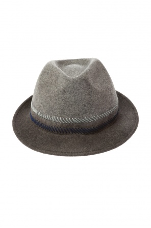 Hat with stitching detailing od Paul Smith