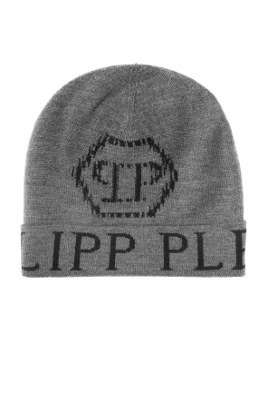 Hat with embroidered logo od Philipp Plein