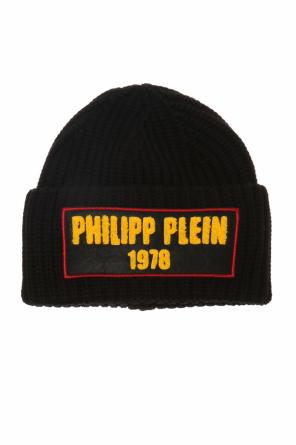 Patched ribbed hat od Philipp Plein