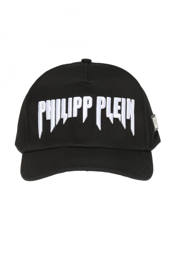382ff9a4ca5 Logo-embroidered baseball cap Philipp Plein - Vitkac shop online