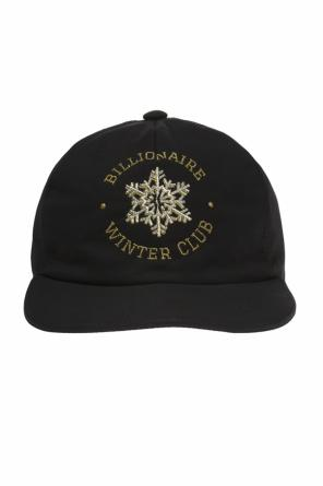 Baseball cap with embroidered logo od Billionaire