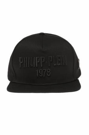 Logo-embroidered baseball cap od Philipp Plein