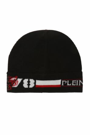 Logo-embroidered hat od Plein Sport