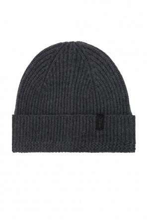 Prążkowana czapka od AllSaints