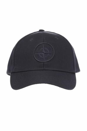 Baseball cap with embroidered logo od Stone Island