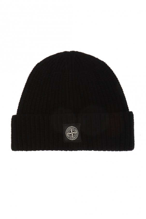 Wool Hat With Logo by Stone Island