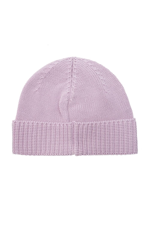 Stone Island Kids Hat with logo