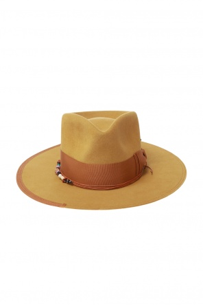 'muerto mountain' hat with decorative elements od Nick Fouquet