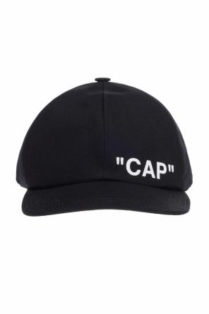 Baseball cap with lettering od Off White