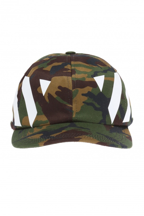 11ab188fb11a79 Camo baseball cap Off White - Vitkac shop online