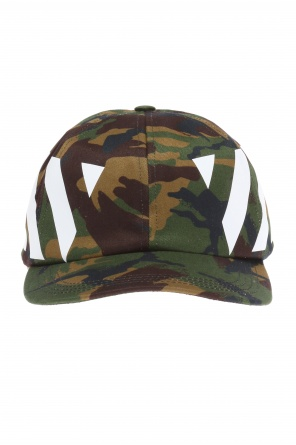 Camo baseball cap od Off White