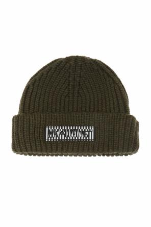 Branded wool hat od Off White