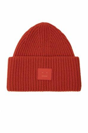 Hat with logo od Acne