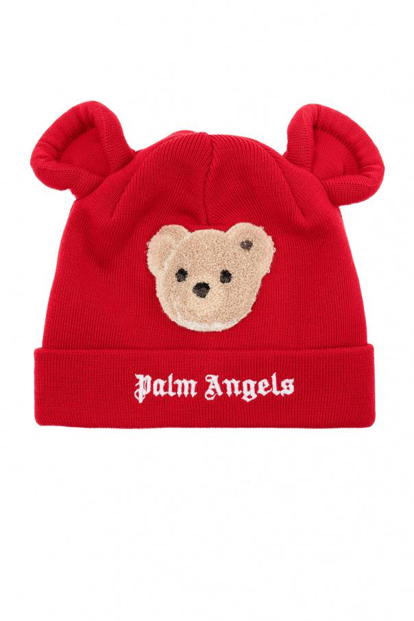 Palm Angels Kids Appliquéd hat