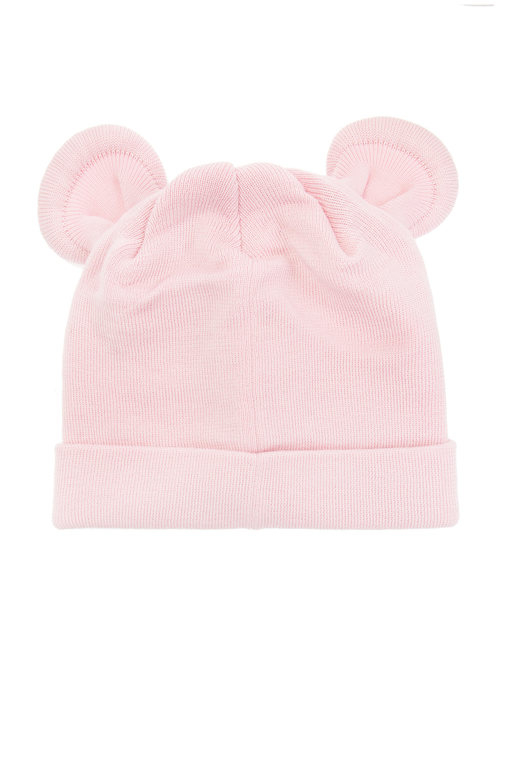 Palm Angels Kids Wool hat with appliqué