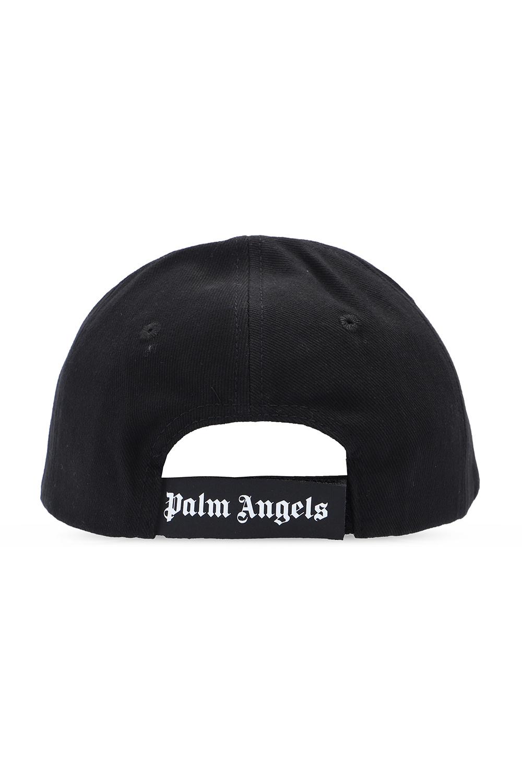 Palm Angels Appliquéd baseball cap