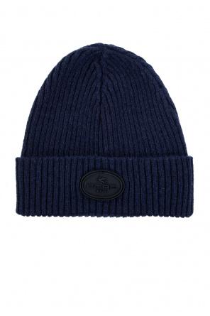 Wool hat with logo od Etro